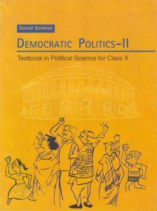 'Democratic Politics-II', Political Science textbook for Class X.