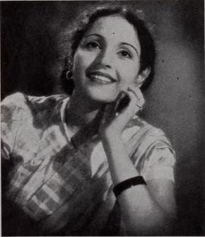 Shobhana Samarth, 1942. Credit: Wikimedia Commons