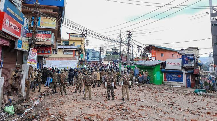 Curfew to be Relaxed in Shillong, Internet to Remain Suspended