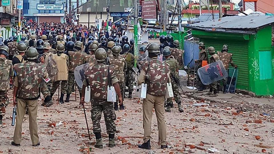 Curfew Imposed in Shillong Again After Mob Pelts Stones at Security Forces