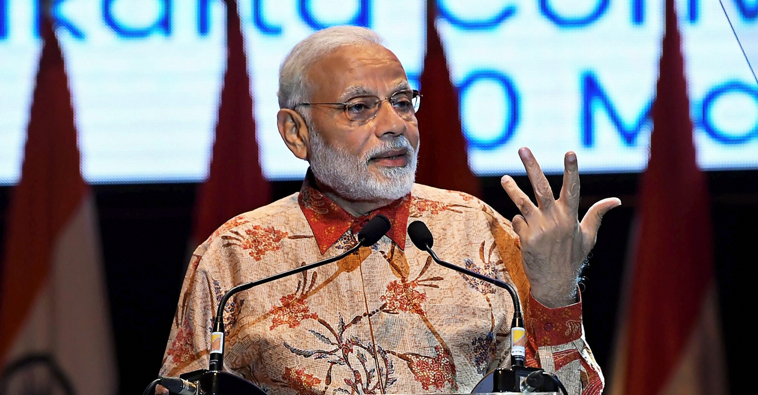 As Interpreter Reads Answer, Modi is Accused of 'Scripted' Interview. Again.