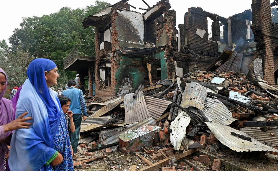 In Kashmir, No Door to Knock for Occupants When Encounters Reduce Homes to Rubble