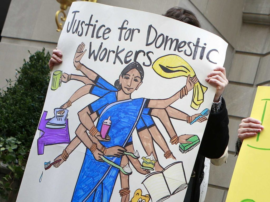 To dismiss maids from work by accusing them of theft is a fairly common practice by employers. Credit: Reuters