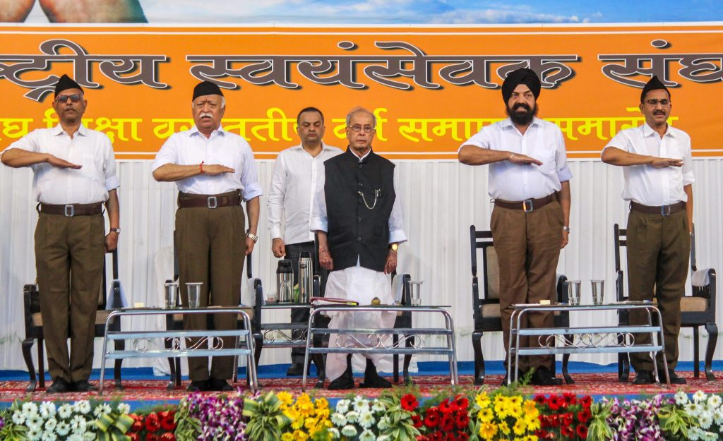 Fact Check: Who Is Behind the Doctored Image of Pranab Mukherjee at RSS Event?