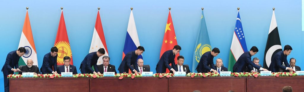 At SCO Summit, India Opposes China's Belt and Road Initiative