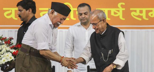 Pranab Mukherjee's Visit to Nagpur a Win-Win for RSS