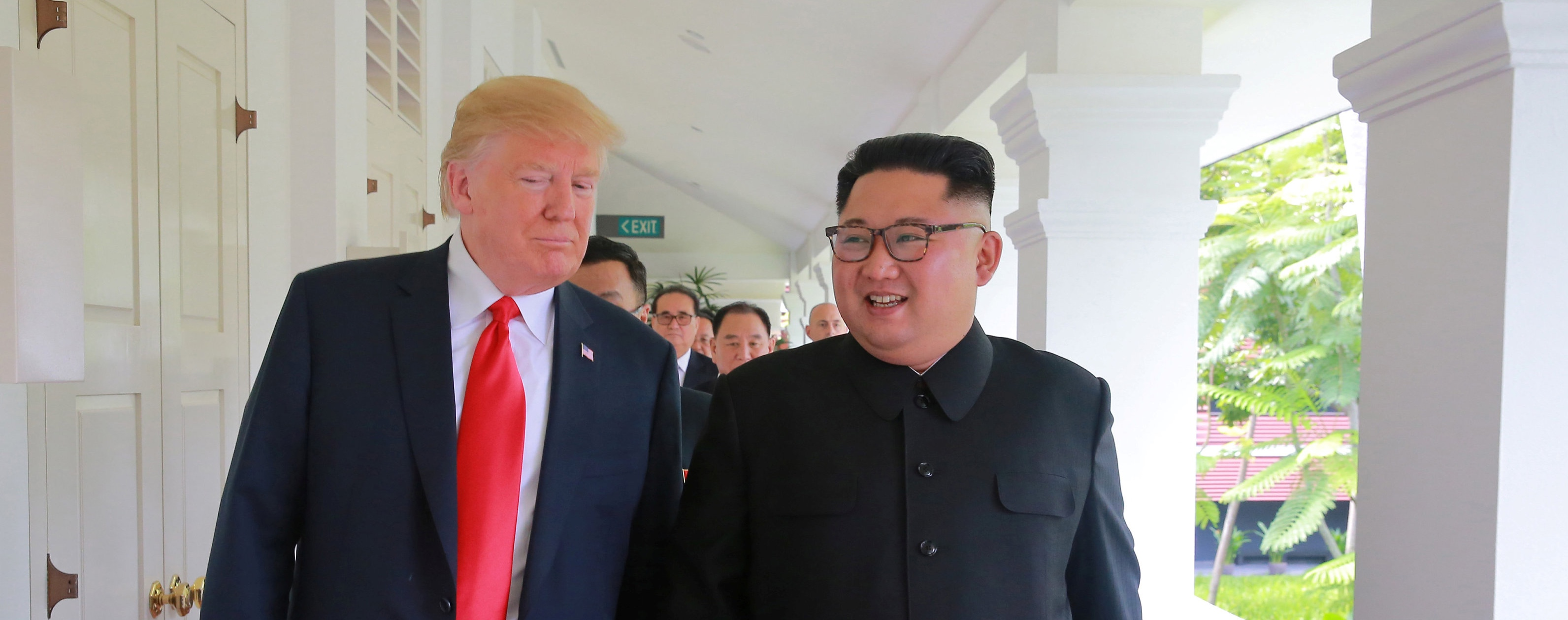 Interview: 'If Not for Donald Trump and Kim Jong-un, I Don't Think This Would Have Happened'