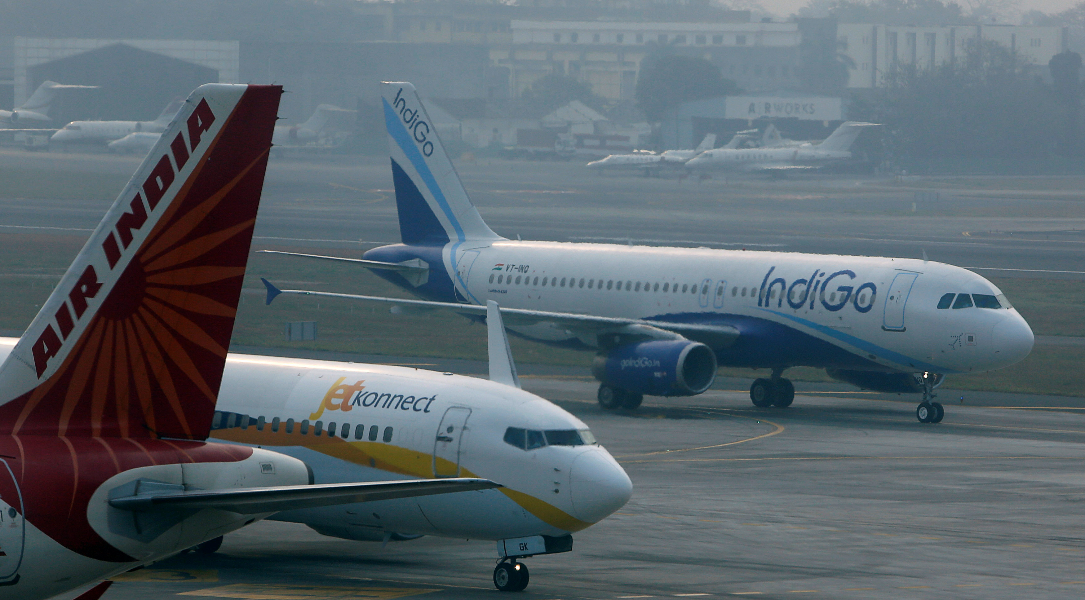 Indian Airlines Are Going International To Escape Airfare War At Home