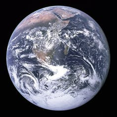 The Blue Marble. Credit: Wikimedia