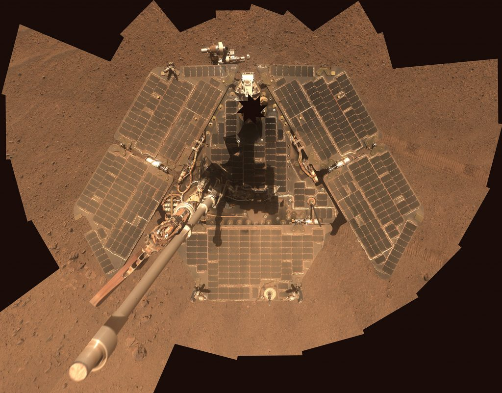 Chilly Mars rover falls silent as dust storm swallows sun