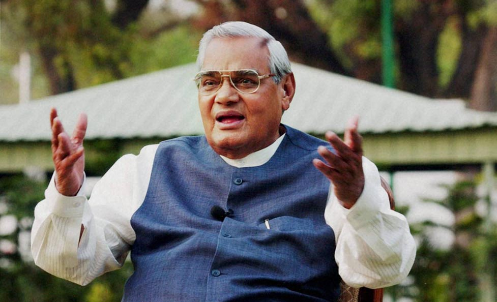 Former Indian PM Atal Bihari Vajpayee dies at 93