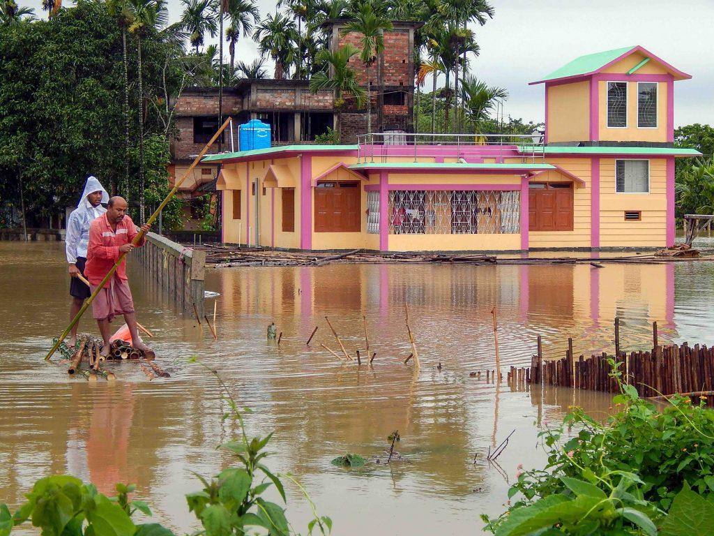 Heavy Rain Wreaks Havoc in Northeast, Over Five Lakh Affected