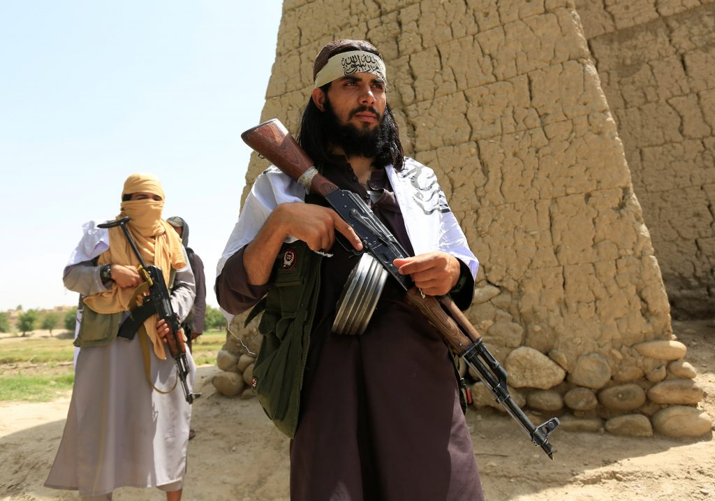 Taliban Roaming Afghan Cities Freely During Eid Festivities