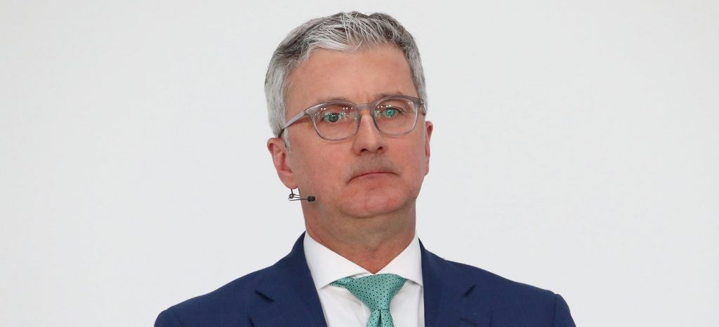 Audi CEO Arrested Over Volkswagen's Diesel Scandal