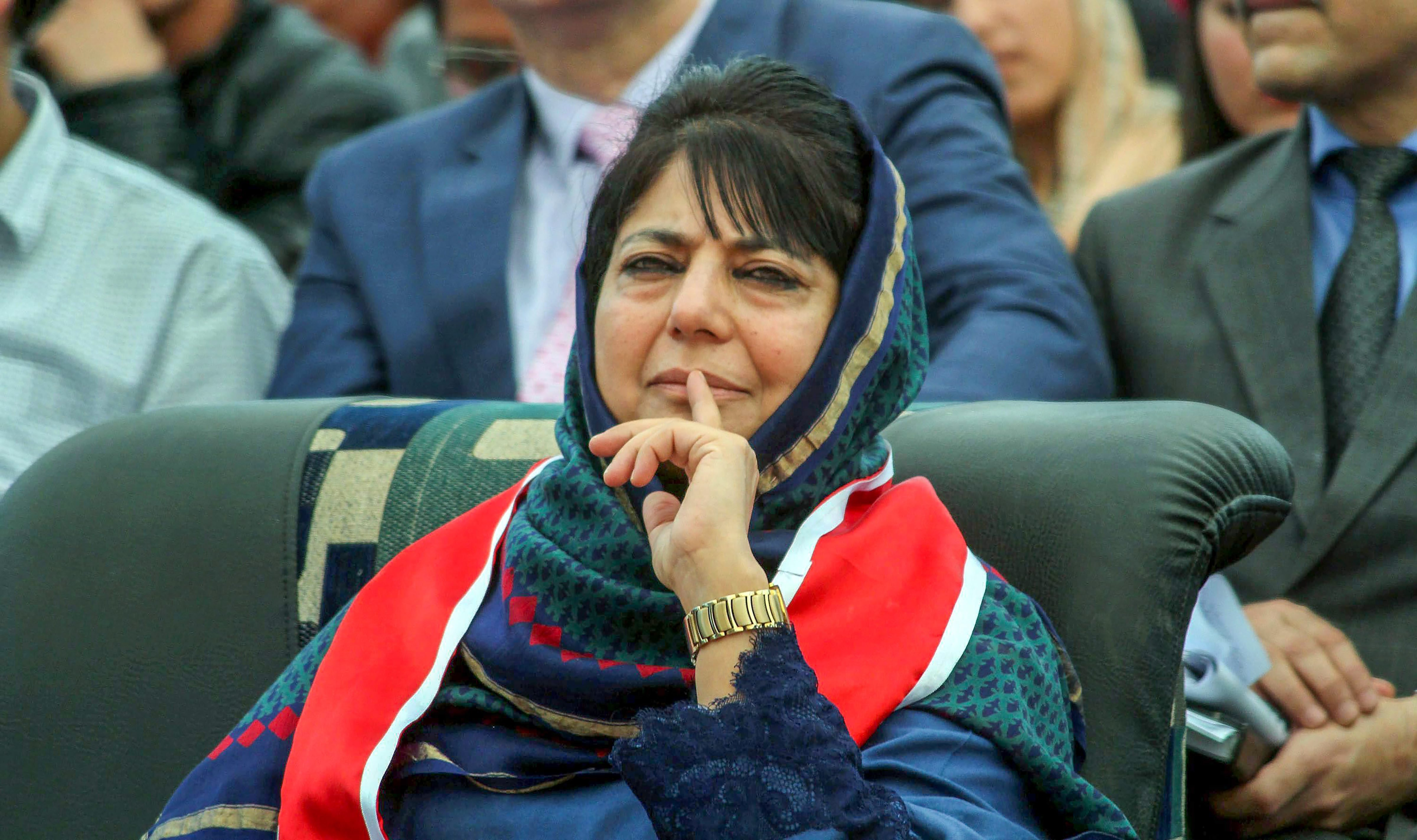 File photo of Mehbooba Mufti. Credit: PTI