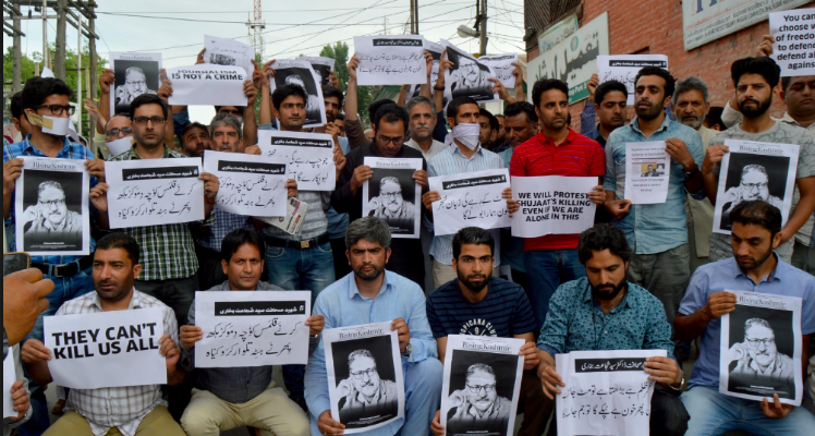 After Bukhari's Killing, Families of J&K Reporters Ask If the Job Is Worth Dying For