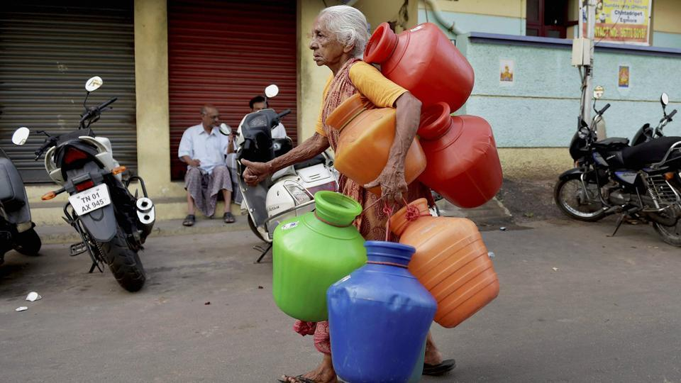 NITI Aayog has warned Tamil Nadu of an imminent water crisis. Credit: PTI/R. Senthil Kumar