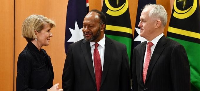 Australia Works on Security Deal With Vanuatu to Counter China's Growing Influence