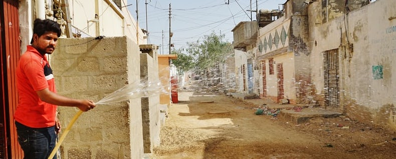 A Posh Locality in Karachi Is Facing Water Shortage