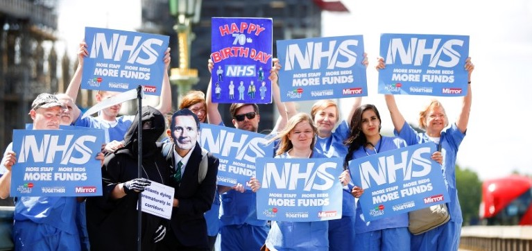 Britain's Health Service Has Started Planning for Brexit No Deal