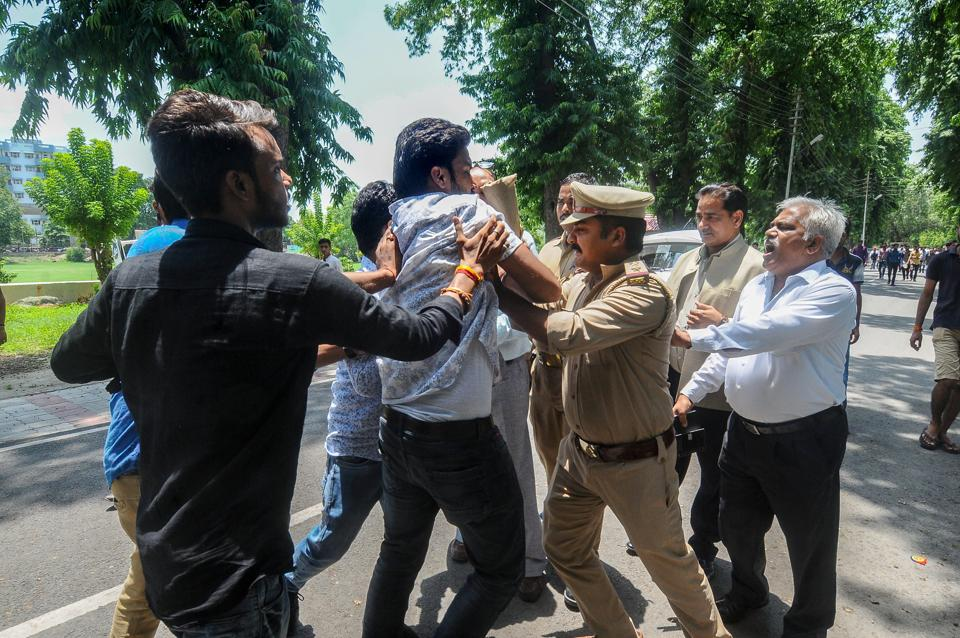 Former VC, Staunch Critic of RSS, Being Targeted for Lucknow University Violence