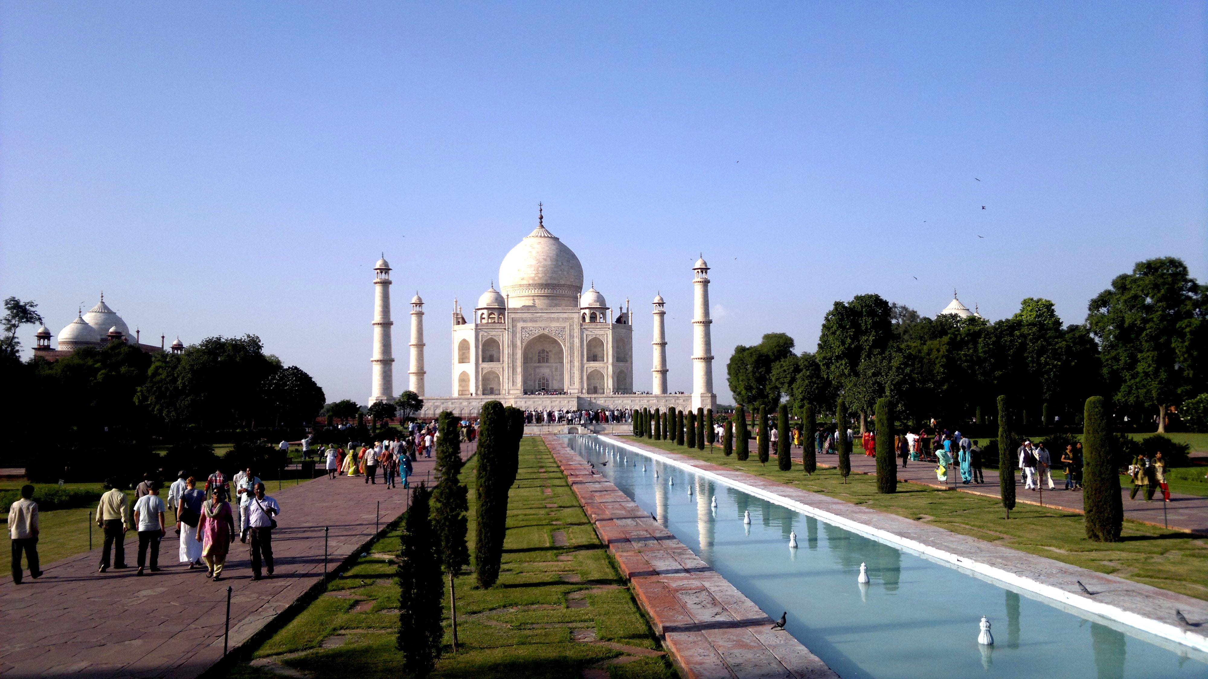 What Really Ails the Taj Mahal?