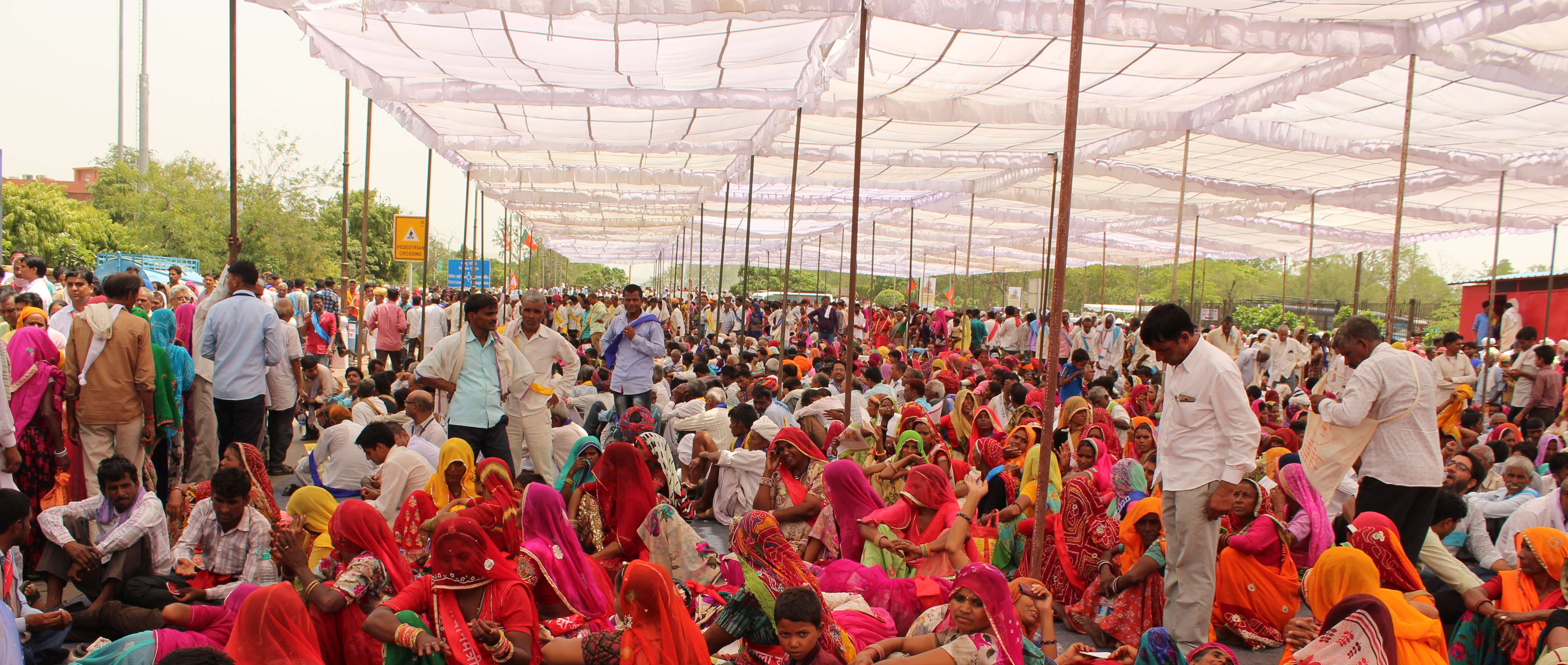 Every Trick in the Book Employed to Get Beneficiaries to Attend Modi's Jaipur Rally
