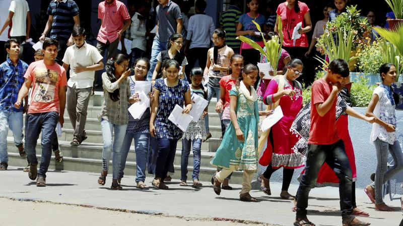 In order to truly make undergraduate admissions a level playing field, a change in the procedure across universities and colleges throughout the country is necessary. Representative image. Credit: PTI/File