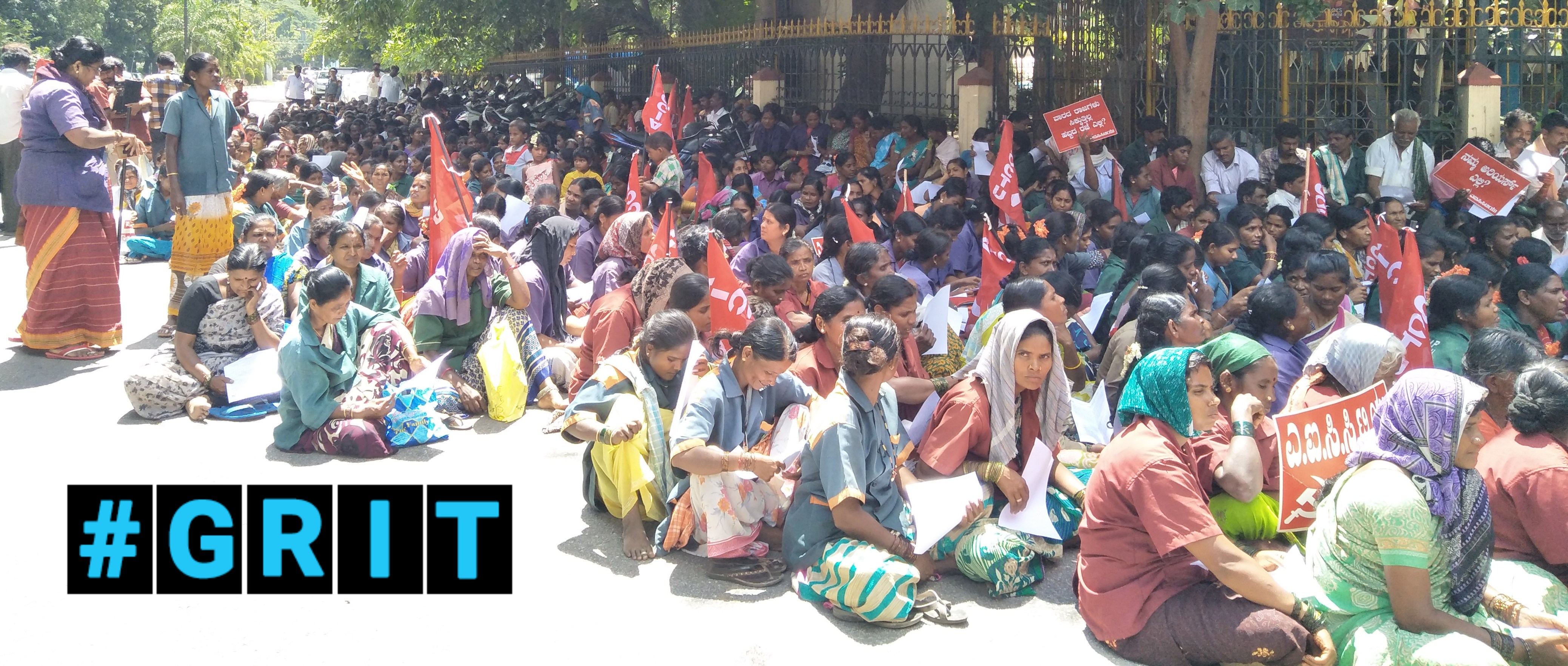 Denied Wages and Dignity, Sanitation Workers in Bangalore Protest