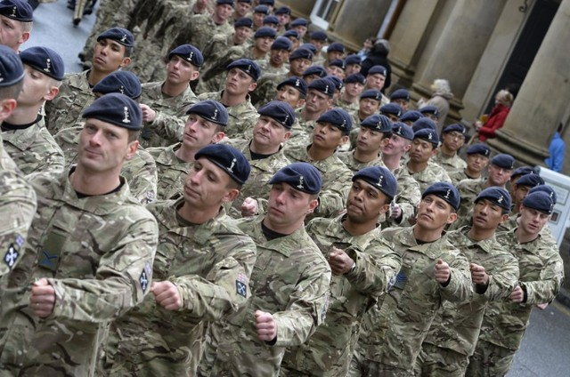 Britain to Double Troops in Afghanistan at US Request