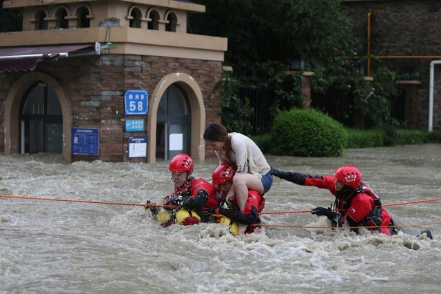 China Floods Wreak Havoc Across the Country