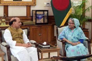 Rajnath Singh, Bangladesh PM Sheikh Hasina Discuss 'Issues of Mutual Interest'