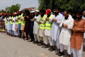 After Bomber Kills 130, Pakistan Fears More Violence During Elections