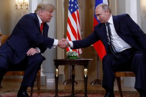 After Denouncing Past US Policy on Russia, Trump Sits Down With Putin in Helsinki