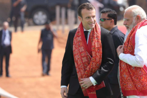 France Batting for Modi on Rafale Secrecy Is at Odds With Macron's Position