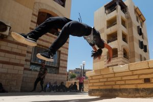 Egyptian Women Challenge Social Norms by Practising Parkour