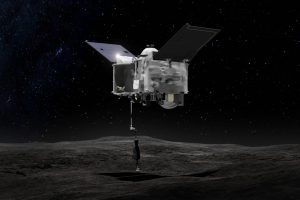 NASA Deep Space Probe Finds Signs of Water on Nearby Asteroid