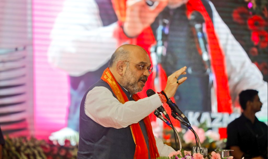 BJP president Amit Shah. Credit: Twitter/Amit Shah