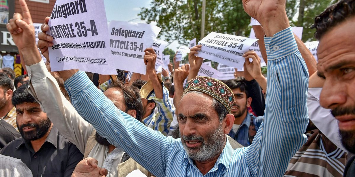 Why Three Former Chief Ministers Are Boycotting the Civic Polls in Restive J&K