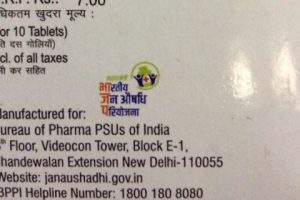 Health Activists Urge BJP to Recall Drug Labels Used as Proxy Party Advertisement