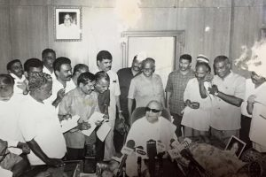 The Story Behind the Alliance That Karunanidhi Regretted