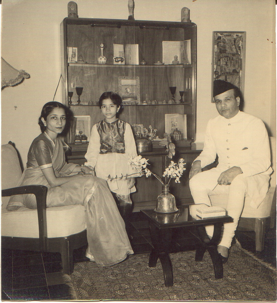 Suraiya Tyabji and Badruddin Tyabji in Indonesia. Credit: Author provided
