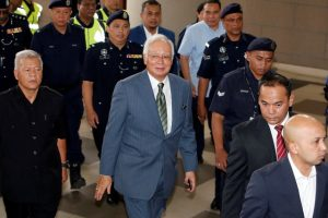 Malaysian Police Question Those Paid out of $972 Million in Najib Razak's Account