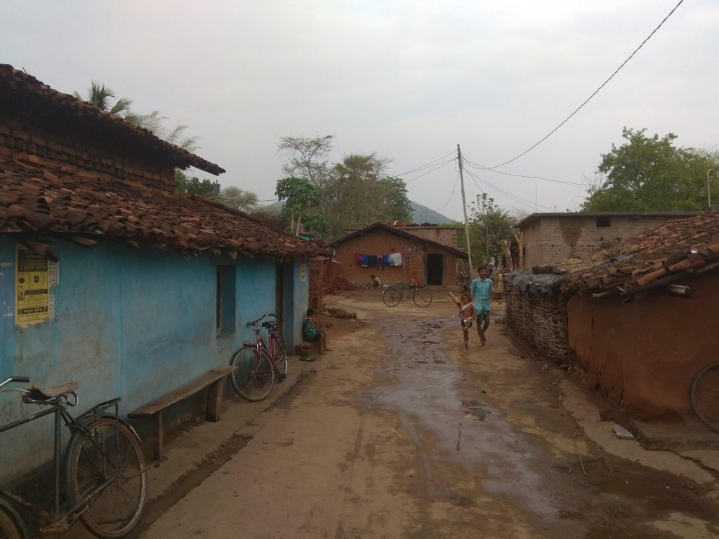 In the Bhaludongri village in Nuapada district, which has around 400 households, upwards of 40% of the families migrated to work in the brick kilns. Credit: Prajwal Suvarna