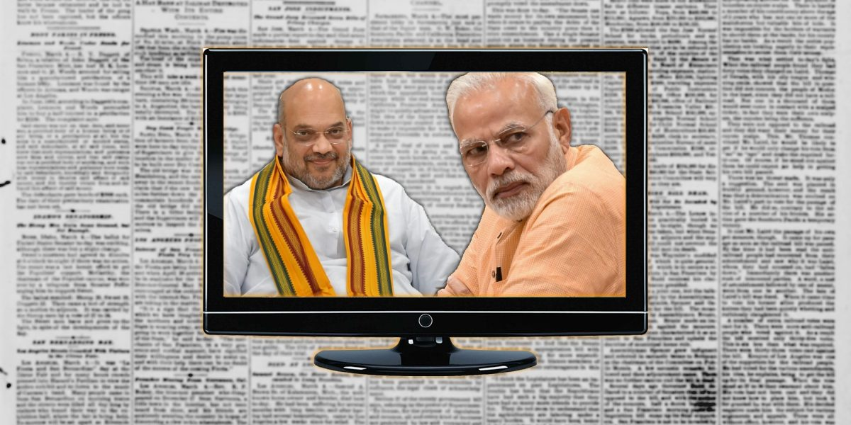 A 200-Member Government Team Is Watching How the Media Covers Modi, Amit Shah