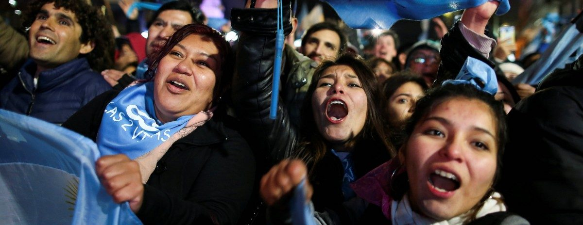 Argentina Rejects Legal Abortion — and Not All Catholics Are Celebrating
