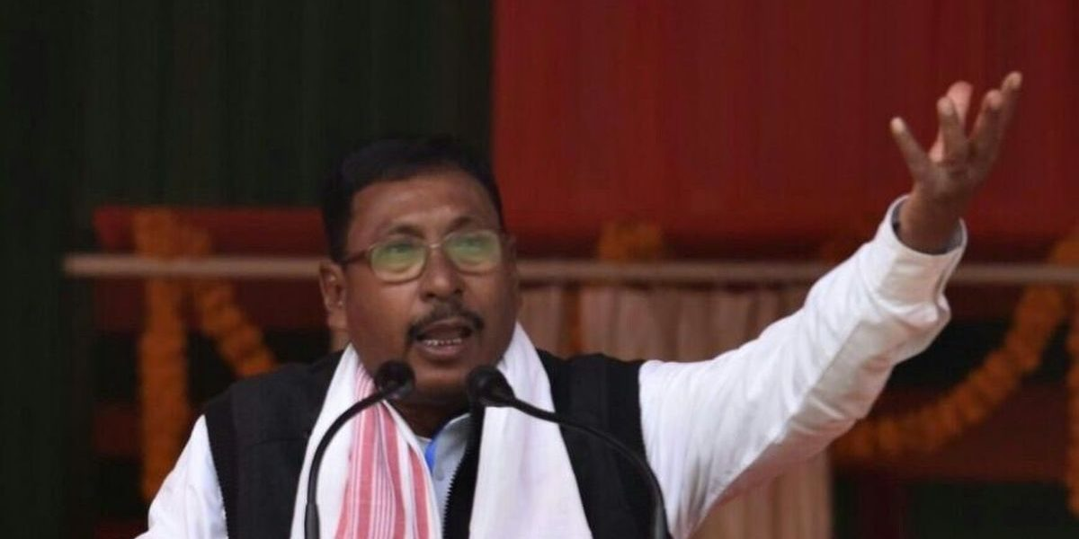 Assam Police Registers Rape Case Against BJP Union Minister Rajen Gohain