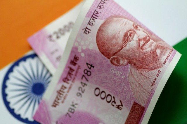 Indian Rupees touches record low of 70.07 versus the U.S.  dollar