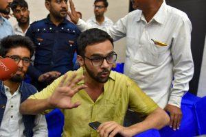 BJP Spokesperson Makes False Claim That Umar Khalid Chanted 'Hinduo se Azadi'