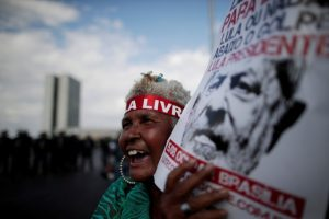 Lula Registers for Brazil Race From Jail as Thousands Rally